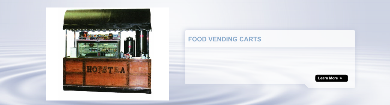 food vending and beverage carts
