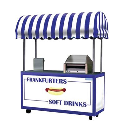 Picture of FRANKFURTER AND COLD DRINK CART – 612