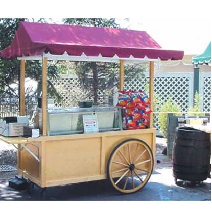 Picture of STEAM TABLE CART