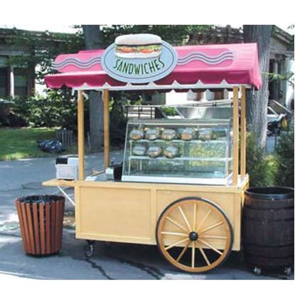 Picture of REFRIGERATED SANDWICH CART