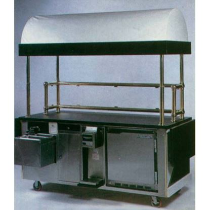 Picture of REAR VIEW CART W/ DELUXE AWNING