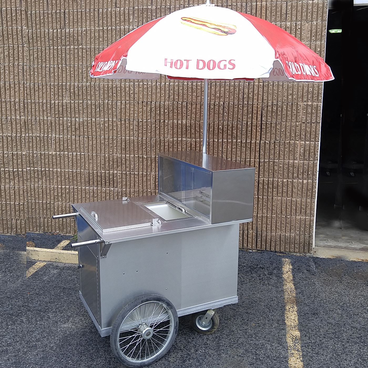Picture of HOT DOG PUSHCART – 100S