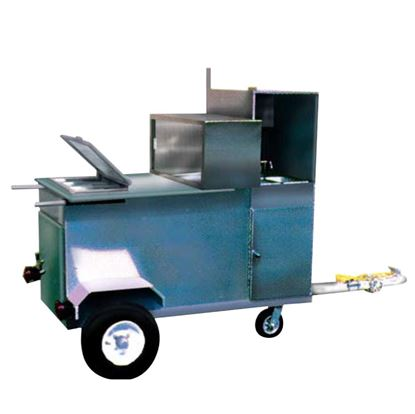 Picture of HOT DOG TRAILER WITH SINKS – HT 100S
