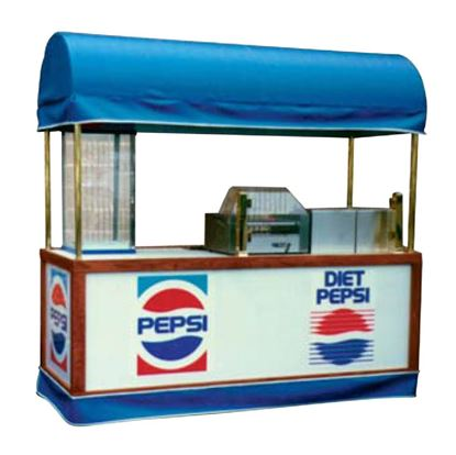 Picture of HOT DOG, HOT FOOD, AND BEVERAGE CART