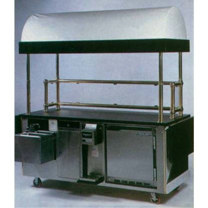 Picture of CUSTOMIZED COFFEE & CAPPUCCINO CART – 6718SD