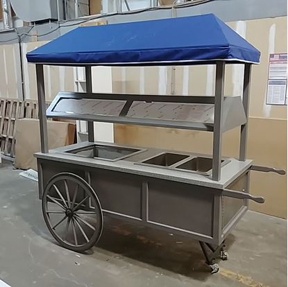 Picture of FOOD SERVING CART