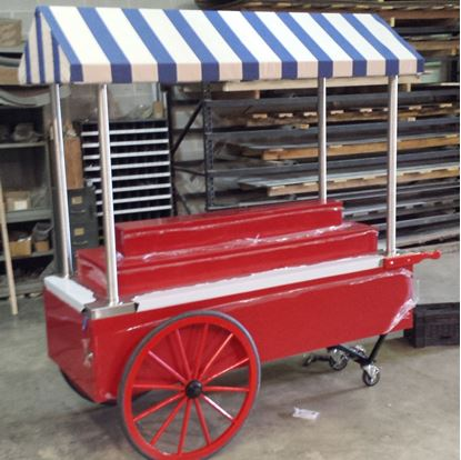Picture of GENERAL MERCHANDISE CART W/ TIERED DISPLAY