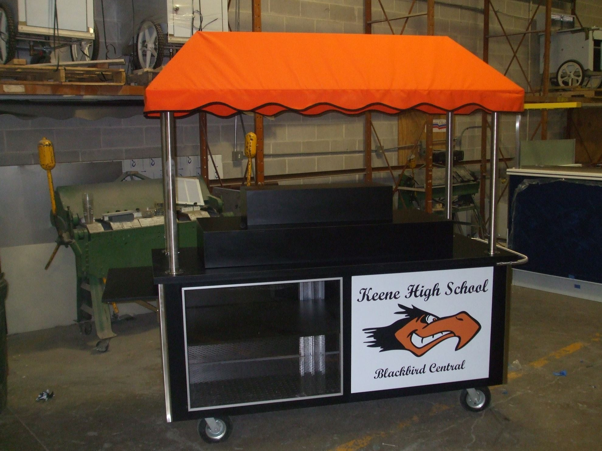 Picture of REFRIGERATED WINE CART